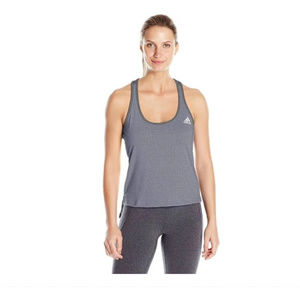 Large Adidas Grey Womens Climacool Tank Top New